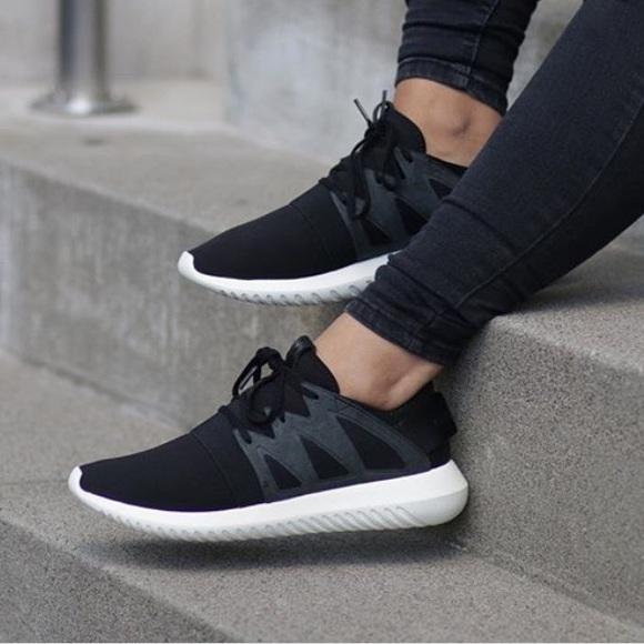 le adidas black tubulare poshmark virale